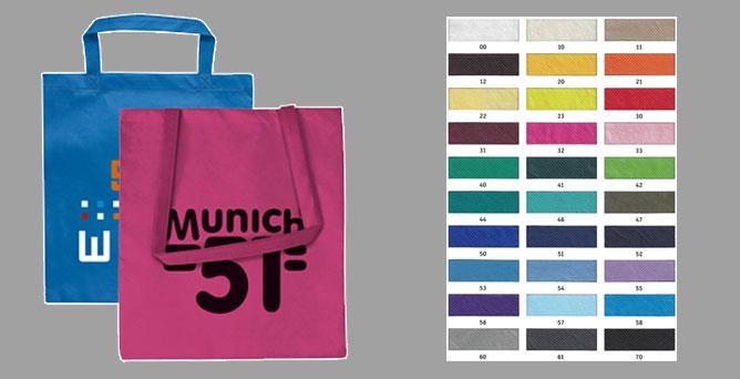 Non-Woven Taschen | 250 Stück ab 0,99 Euro