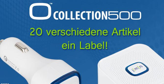 1 Label für 20 verschiedene Werbeartikel