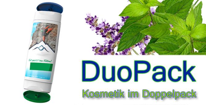 DuoPack – neuer Kosmetik-Werbeartikel