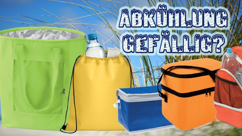 Kühltaschen – Der Sommer-Werbeartikel!